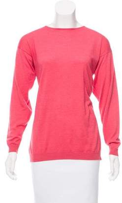 Genny Cashmere Long Sleeve Sweater
