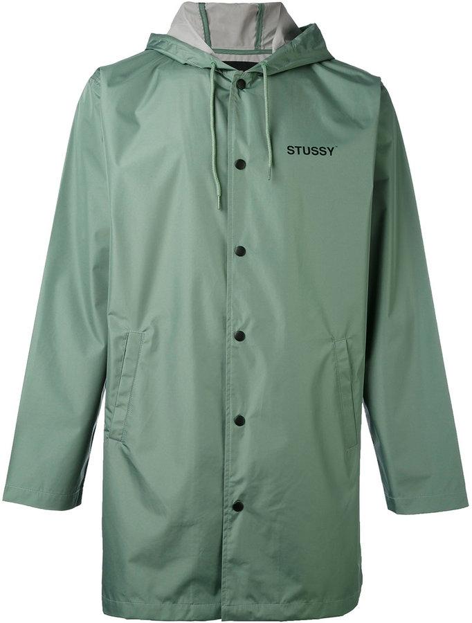 StussyStussy single breasted coat