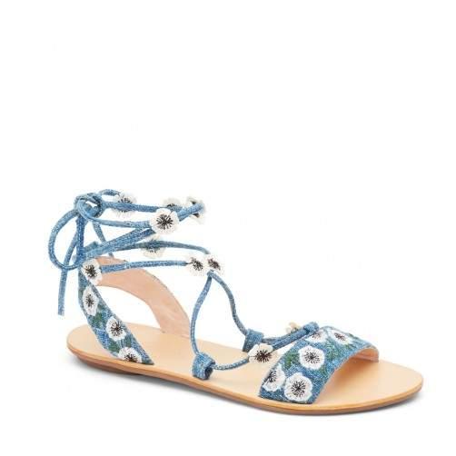 Fleura Ankle Wrap Sandal