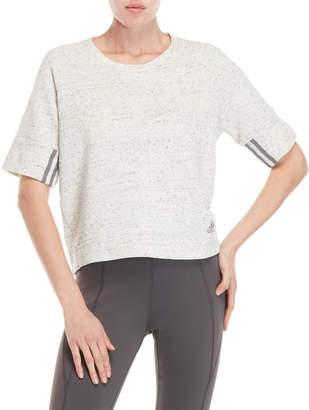 adidas Sport 2 Street Short Sleeve Knit Top