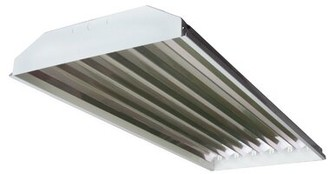 Howard Lighting 6-Light High Bay Fluorescent Light Fixture with 32W T8 Bulb Howard Lighting