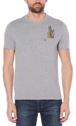 Original Penguin Paint Brush Pocket Tee