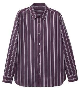 Mango man MANGO MAN Slim-fit striped cotton shirt