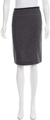 Narciso Rodriguez Wool Knee-Length Skirt