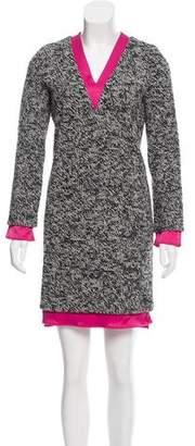 Balenciaga Long Sleeve Mini Dress
