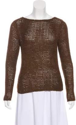 Ralph Lauren Black Label Linen Knit Sweater