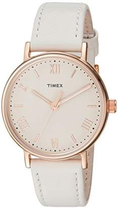 Timex Women's TW2R28300 Southview 37 Leather Strap Watch
