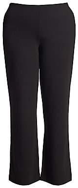 Joan Vass Women's Plus Ponte Bootcut Pants