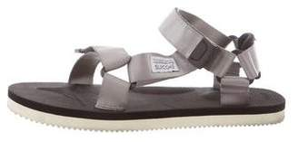 Suicoke Satin Ankle Strap Sandals