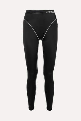 Adam Selman Stretch Leggings - Black