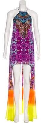Camilla Silk Maxi Dress