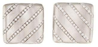 St. John Alfieri & 18K Diamond Earclips