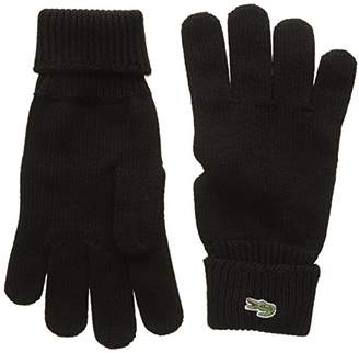 Lacoste Men's RV4214 Gloves,(Manufacturer Size: M)