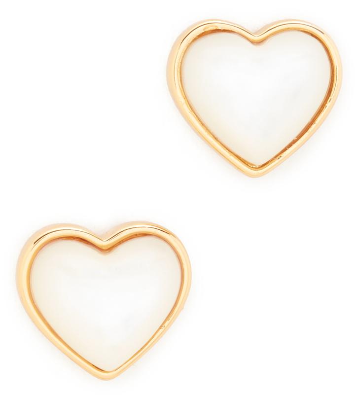 Tory BurchTory Burch Amore Heart Stud Earrings