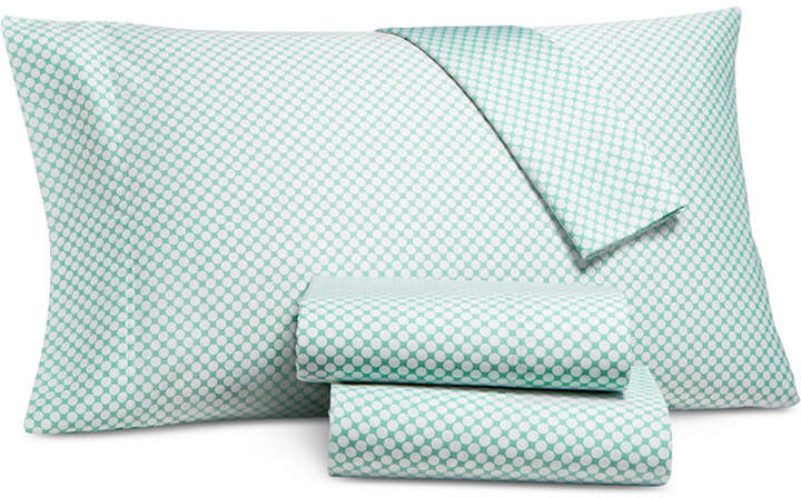 Charter Club Damask Designs Printed Dot Twin 3-pc Sheet Set, 550 Thread Count, Created for Macy's Bedding