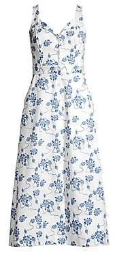Equipment Women's Oleisa Floral Print A-Line Dress - Size 0