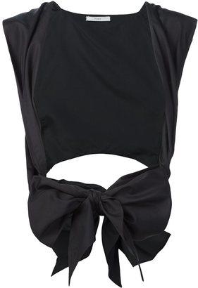 Tome poplin tie waistcoat $495 thestylecure.com