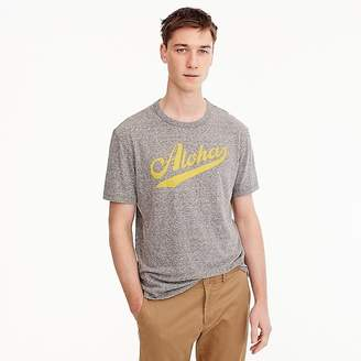 "J.Crew Triblend T-shirt in ""Aloha"" graphic"