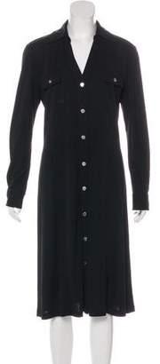Michael Kors Midi Collared Dress