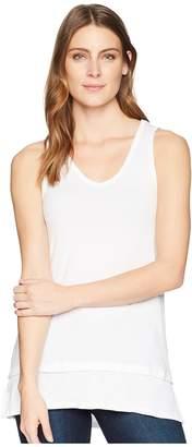 Mod-o-doc Supreme Jersey Banded Hem Tank Top Women's T Shirt