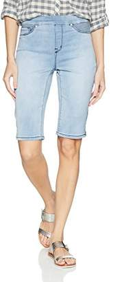 Tribal Women's Pull On Bermuda Soft Touch Denim