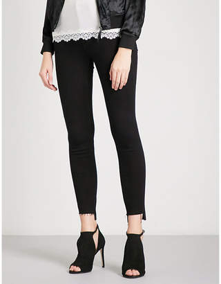 Good American Good Legs Raw Stagger skinny high-rise jeans