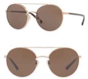 Burberry Rockloop 55MM Round Sunglasses