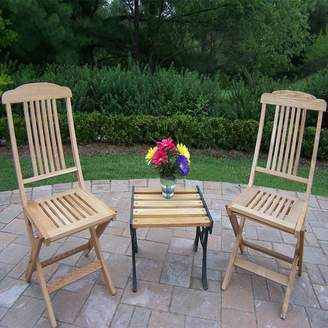 Kohl's Wooden Outdoor Folding Event Chair 3-piece Set