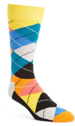 Men's Happy Socks Argyle Socks $12 thestylecure.com