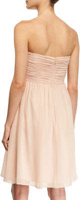 Donna Morgan Sarah Bustier Georgette Dress