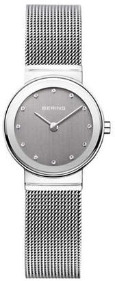 Swarovski BERING Classic Grey Dial Stainless Steel and Crystal Bracelet Watch