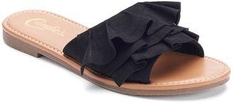 Candie's® Photon Women's Slide Sandals $39.99 thestylecure.com