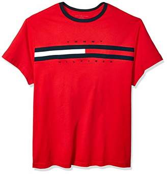 Tommy Hilfiger Men's Big and Tall Logo T Shirt