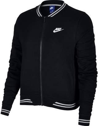 Nike Women's Sportswear Back Graphic Jacket