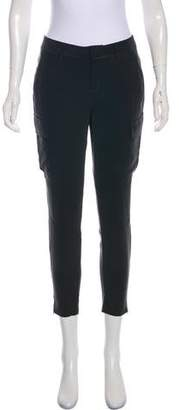 L'Agence Silk High-Rise Cropped Pants