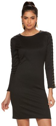 Women's Jennifer Lopez Chain Sheath Dress $80 thestylecure.com