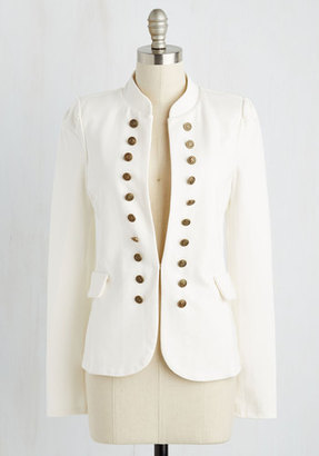 YA (yalosangeles) I Glam Hardly Believe It Jacket in White $54.99 thestylecure.com