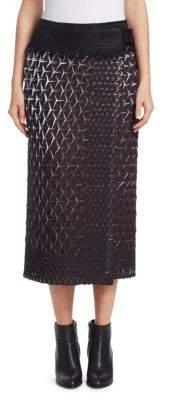 Issey Miyake Retrospect Solid Wrap Skirt