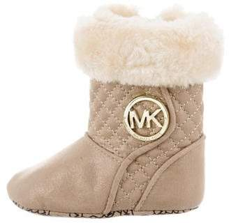 MICHAEL Michael Kors Girls' Kelly Quilted Booties