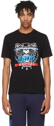 Kenzo Black Hyper Tiger T-Shirt