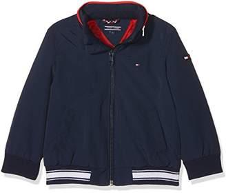 b0d1e473 Tommy Hilfiger Boy's Ame S Perky Jacket Plain Regular Fit Long Sleeve Jacket ,(Manufacturer