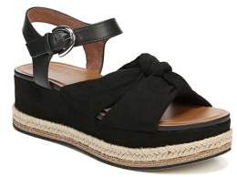 Naturalizer Berry Fabric Platform Espadrille Sandals