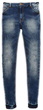 Very Distressed Skinny Jeans In Blue Size 3 Years