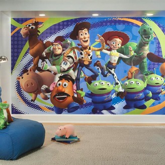 York Wall Coverings York Wallcoverings Disney / Pixar Toy Story 3 Removable Wallpaper Mural