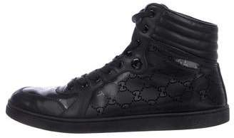 Gucci GG Round-Toe Sneakers
