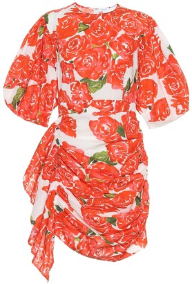 Rhode Resort Pia floral cotton minidress