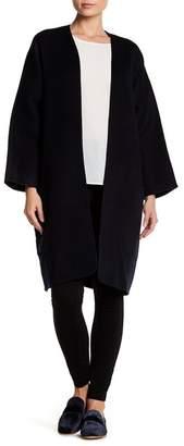 Vince Wool & Cashmere Cardigan Coat