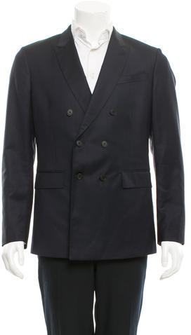 Paul SmithPaul Smith Double-Breasted Wool Blazer