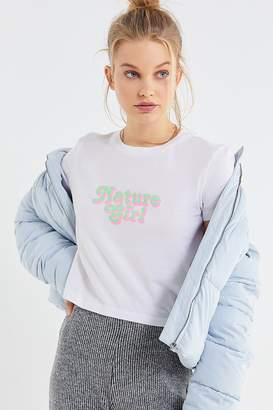 Truly Madly Deeply Nature Girl Cropped Tee