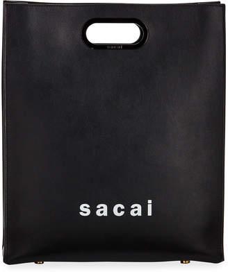 Sacai Shopper Medium Smooth Top Handle Bag
